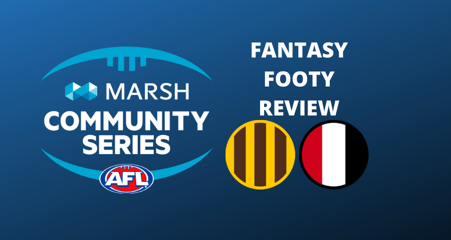 Marsh Community Series Review | Hawthorn Vs St Kilda
