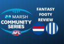 Marsh Community Series Review | Bulldogs Vs Kangaroos