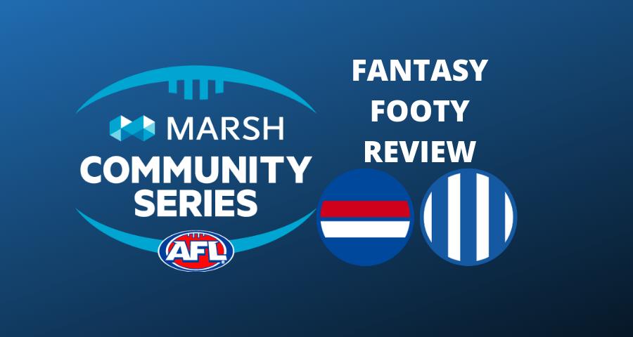 Marsh Community Series Review | Bulldogs Vs Kangaroos