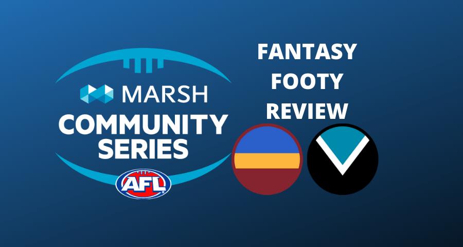 Marsh Community Series | Lions Vs Power