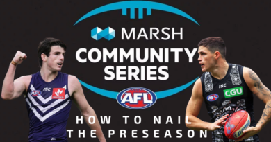 How To Nail The Fantasy Footy Preseason
