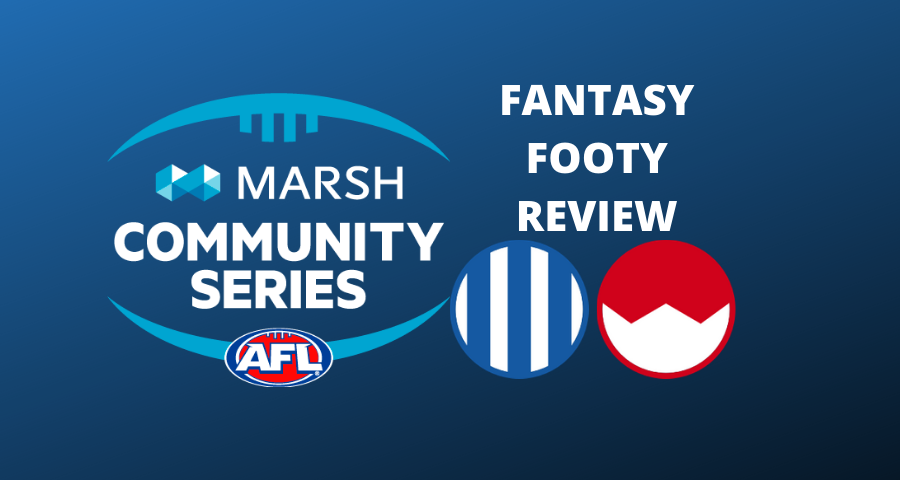 Marsh Community Series Review | Kangaroos Vs Swans