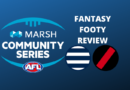Marsh Community Series Review | Cats Vs Bombers