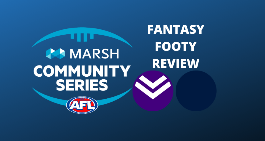 Marsh Community Series Review | Dockers v Blues