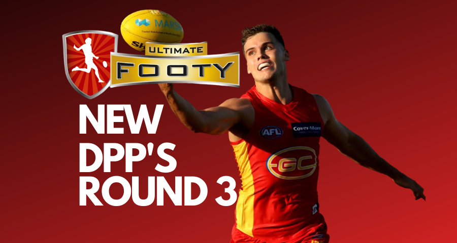 UltimateFooty: Round 3 Positional Changes