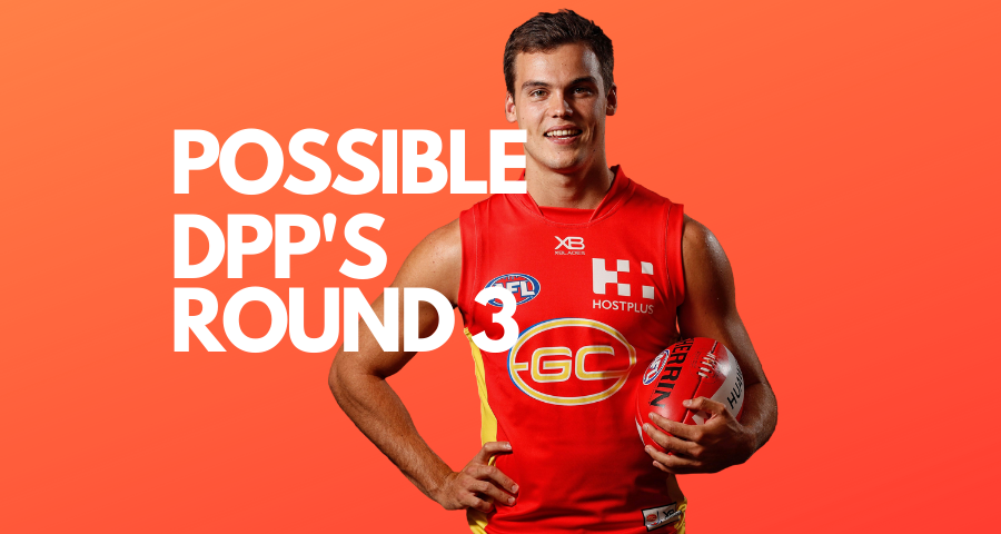 UltimateFooty | Possible DPP Changes | Round 3