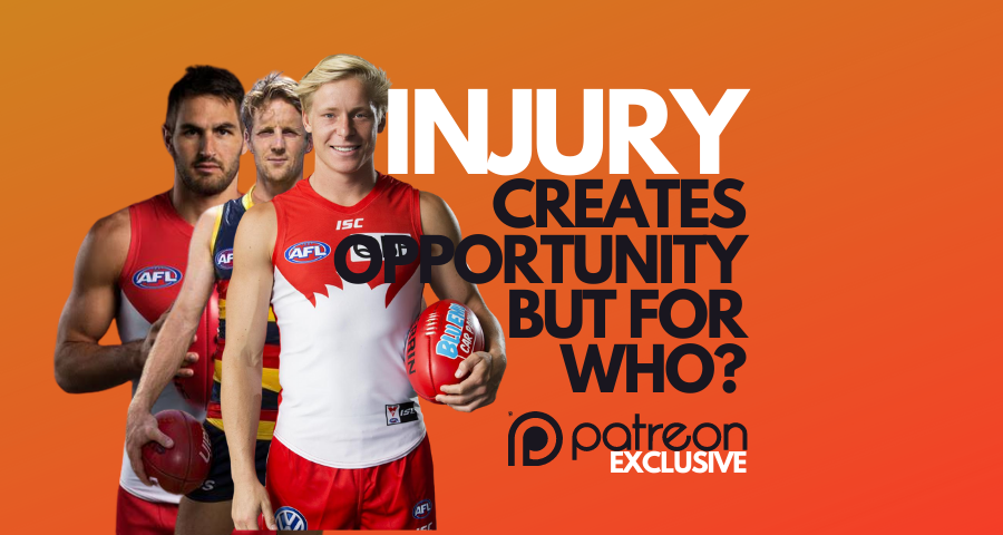 Injury Creates Opportunity, but for who?