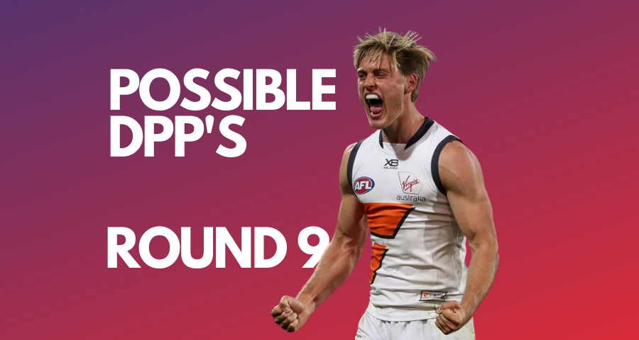 UltimateFooty | Possible DPP Changes | Round 9
