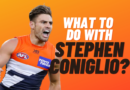 What Should I With Stephen Coniglio?