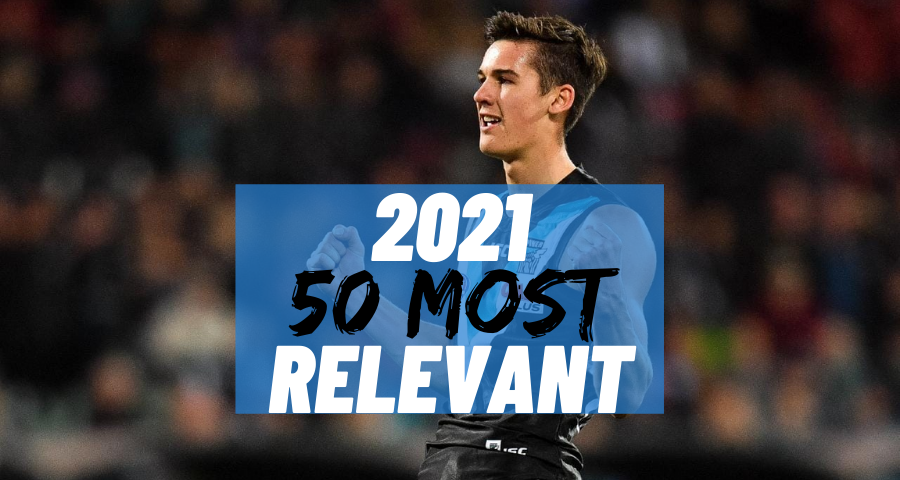 #42 Most Relevant | Connor Rozee