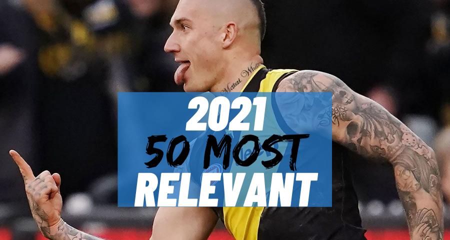 #20 Most Relevant   Dustin Martin