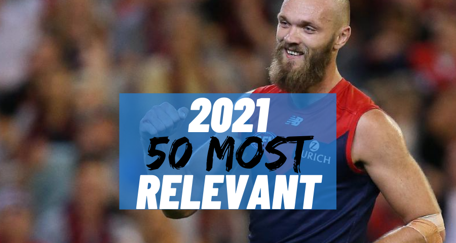 #2 Most Relevant | Max Gawn