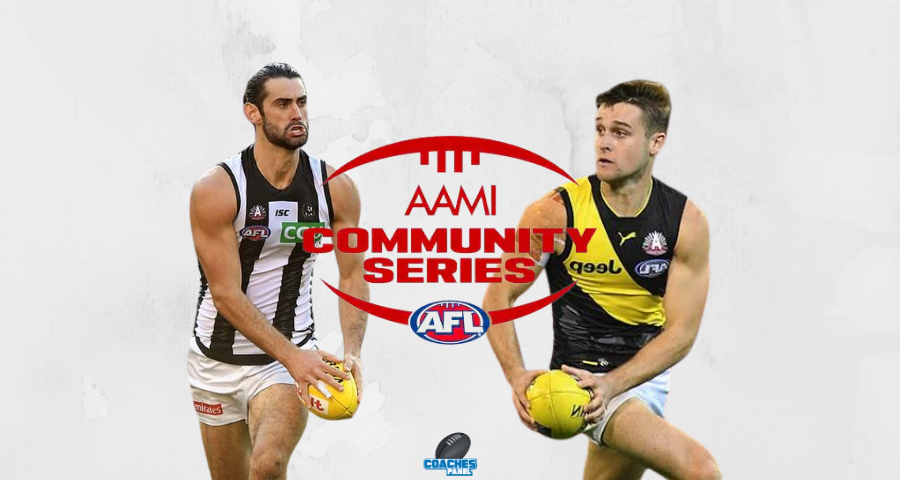 AAMI Community Series Review | Magpies Vs Tigers