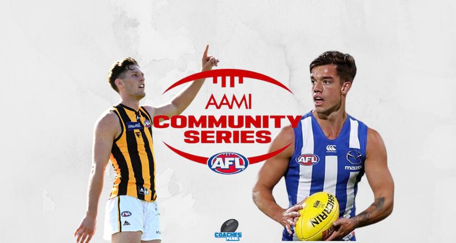 AAMI Community Series Review | Kangaroos Vs Hawks