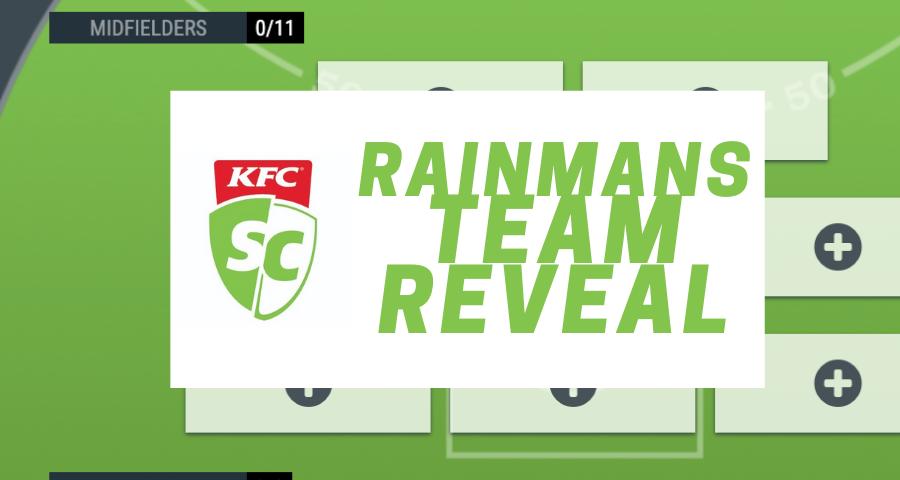Patreon Exclusive | Rainman's SuperCoach Team Reveal
