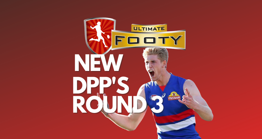 Ultimate Footy | Round 3 Positional Changes