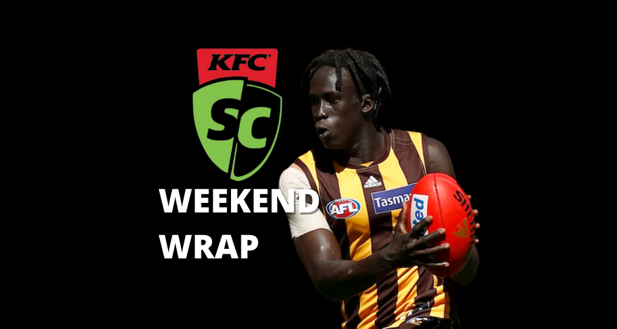 SuperCoach | Weekend Wrap | Round 4