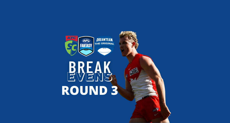 Breakevens | Round Three
