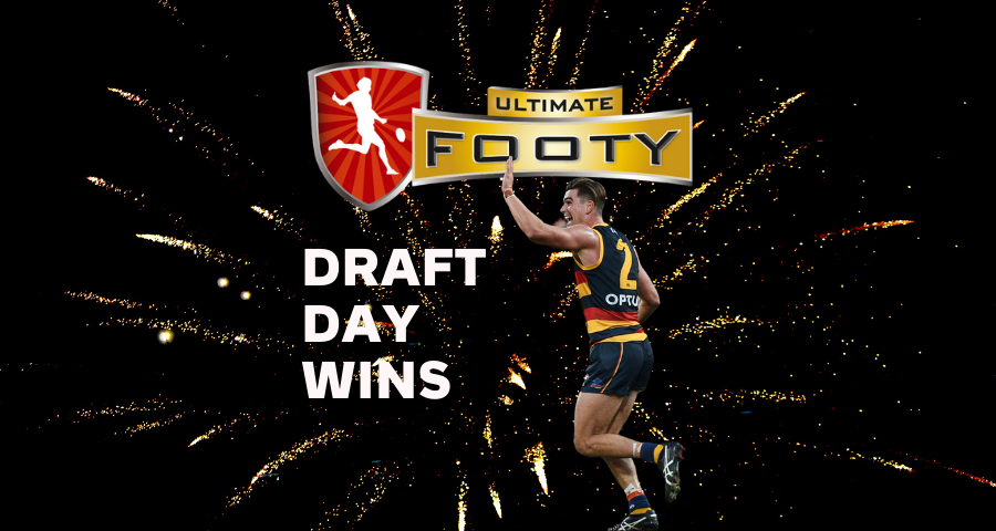 Ultimate Footy   Draft Day Wins