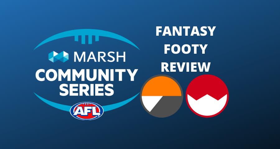 Marsh Community Series Review | Swans Vs Giants