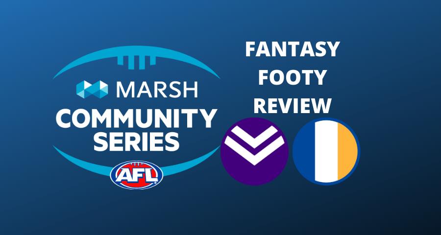 Marsh Community Series Review | Eagles Vs Dockers