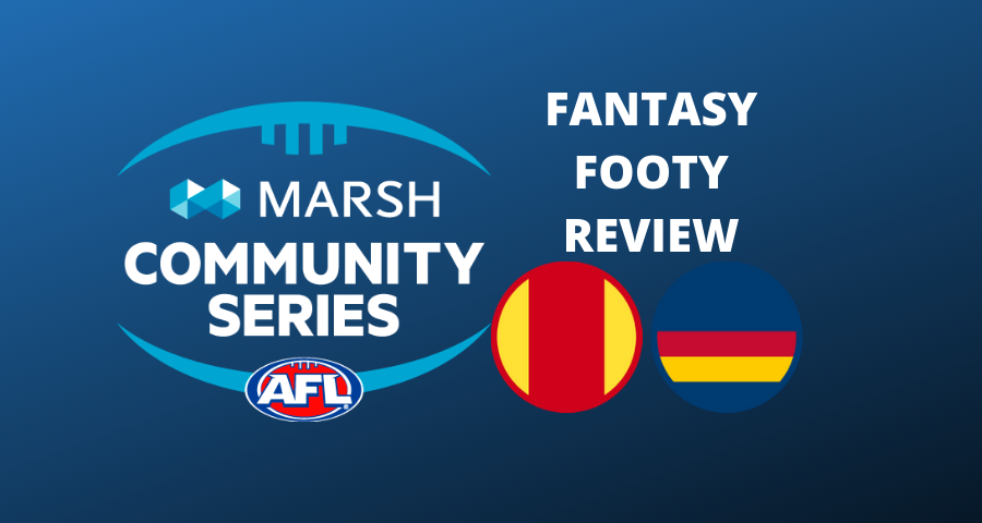 Marsh Community Series Review | Suns Vs Crows