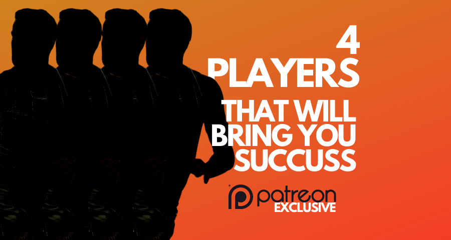Patreon Only | Four Players That Could Bring Fantasy Football Success