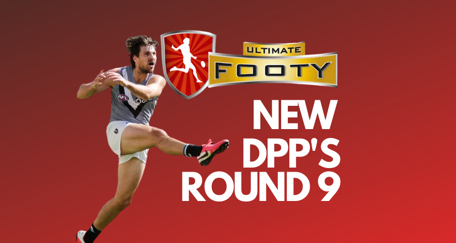 UltimateFooty: Round 9 Positional Changes