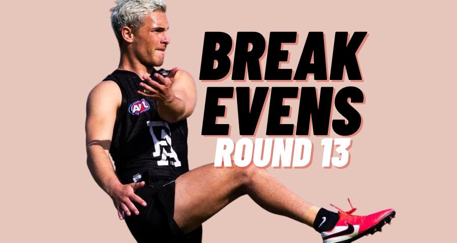 Breakevens | Round 13