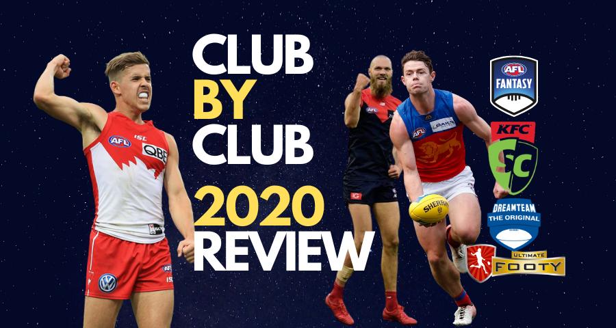 Club By Club 2020 Fantasy Football Review