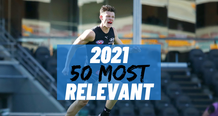 #36 Most Relevant   Sam Walsh