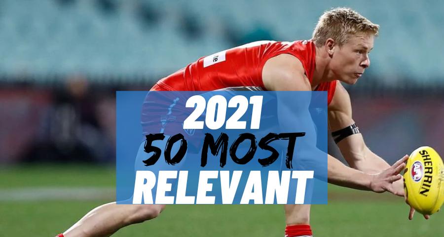 #22 Most Relevant | Isaac Heeney