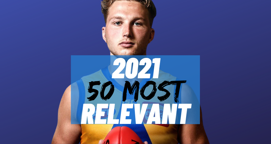 #35 Most Relevant   Alex Witherden