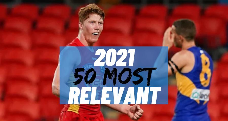 #13 Most Relevant | Matt Rowell