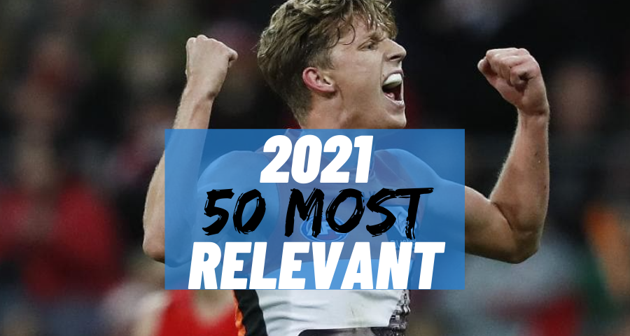 #4 Most Relevant | Lachie Whitfield