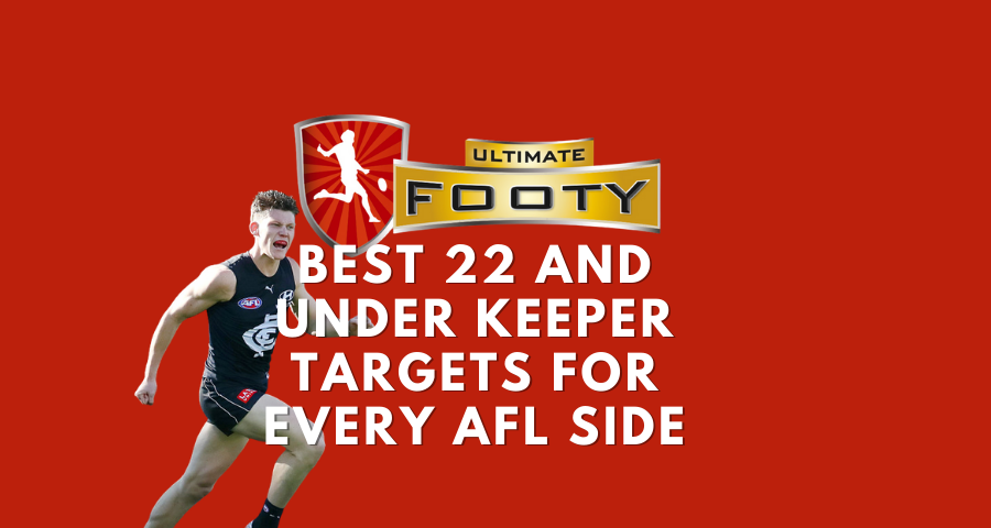 Best 22 and under Keeper Targets for Every AFL Side