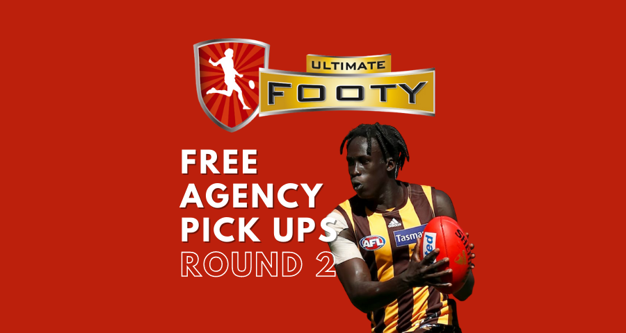 Ultimate Footy | Free Agency Pick Ups | Round Two
