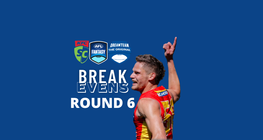 Breakevens | Round 6