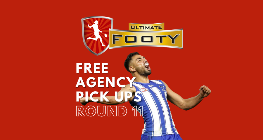 UltimateFooty   Free Agency Pick Ups   Round 11