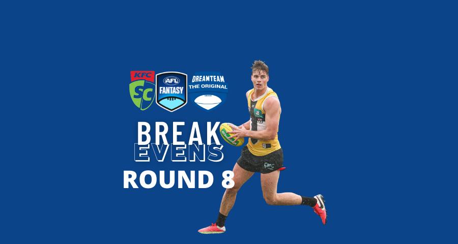 Breakevens | Round 8