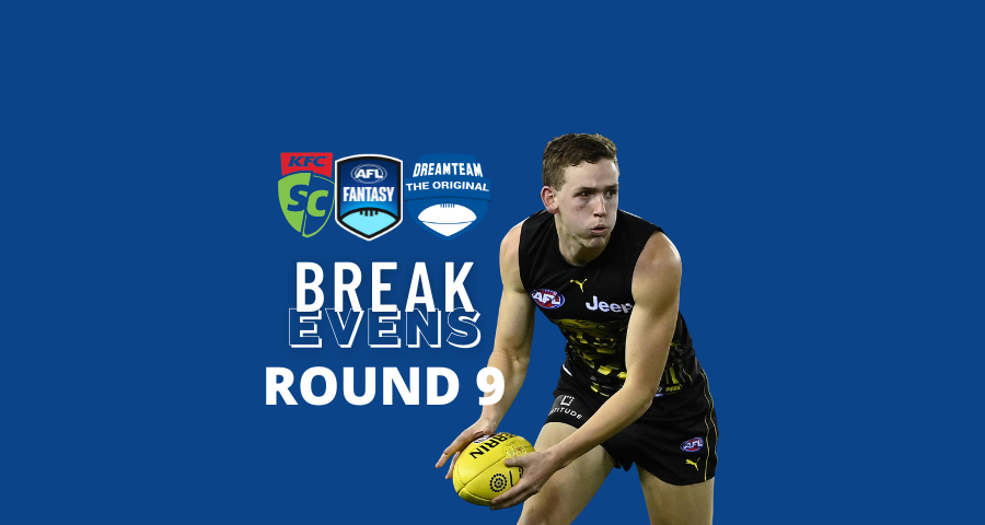 Breakevens | Round 9