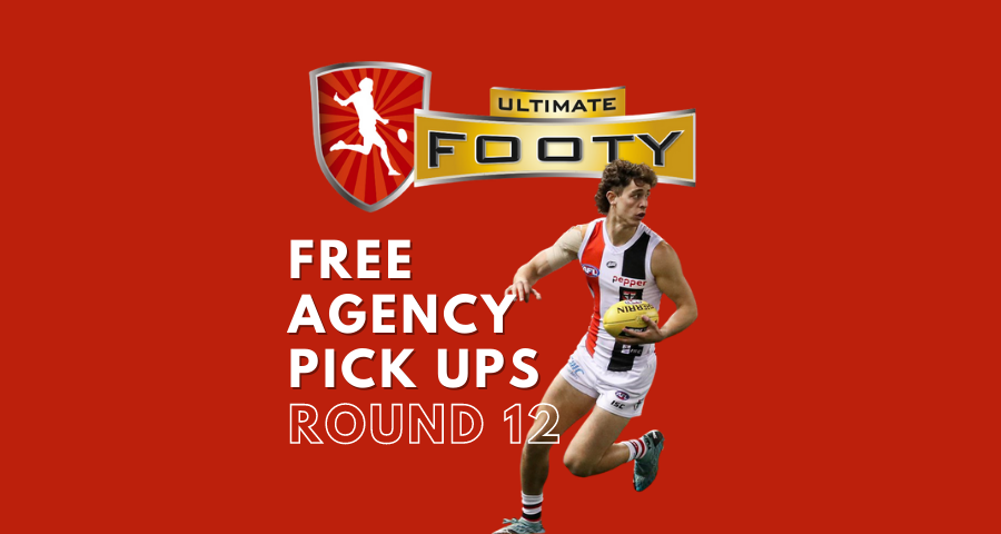 UltimateFooty | Free Agency Pick Ups | Round 12