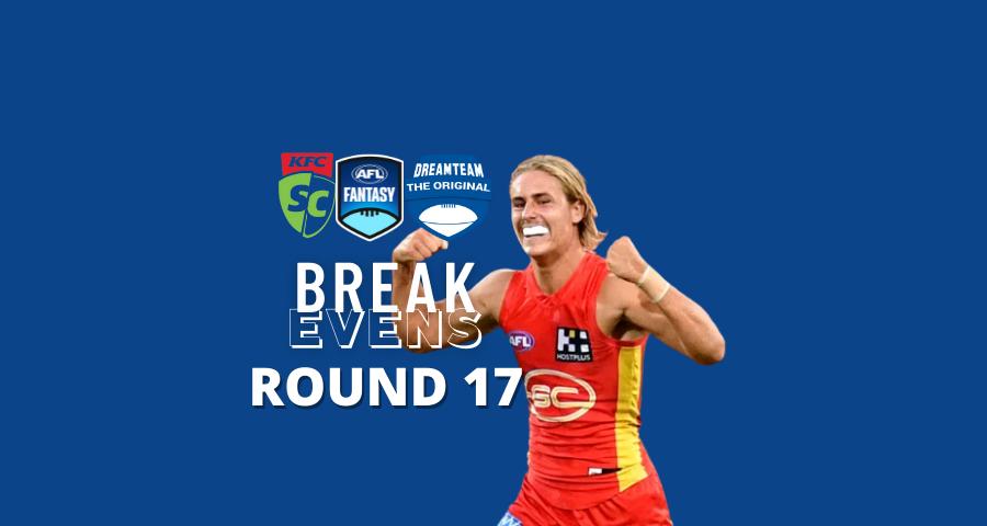 Breakevens | Round 17