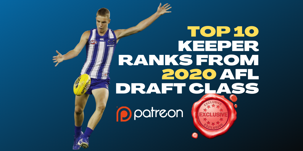 MJ's Top 10 Keeper Ranks from the 2020 Draft Class