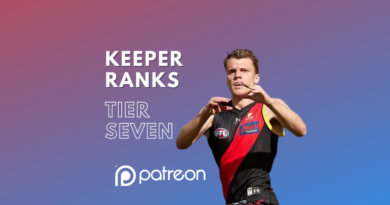 Keeper League Ranks | Tier Seven | Patreon Exclusive
