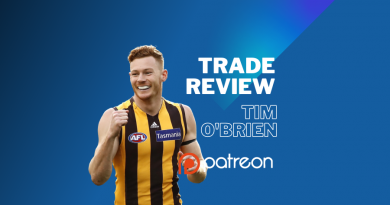 AFL Trade Review | Tim O'Brien