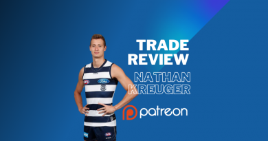 AFL Trade Review | Nathan Kreuger | Patreon Exclusive